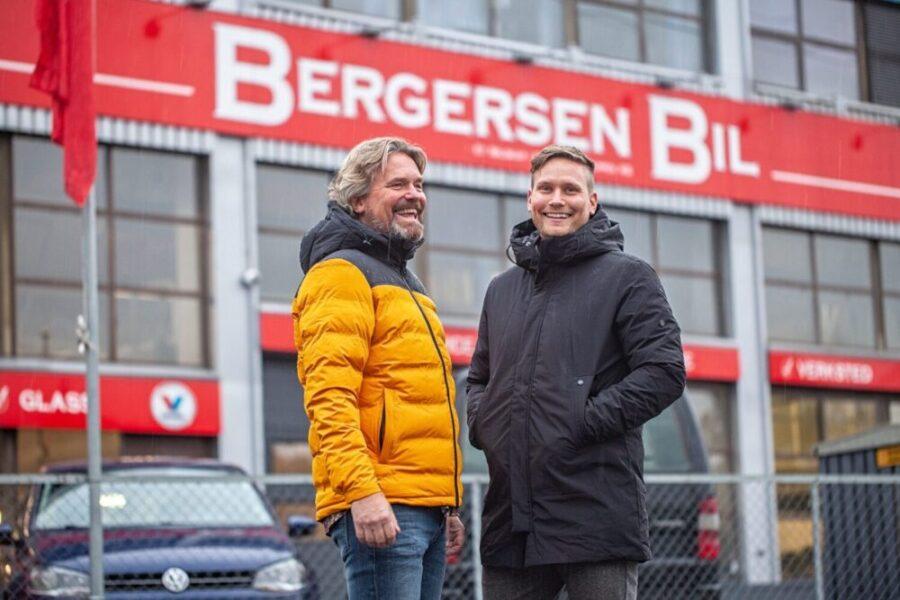 På besøk hos Bergersen Bil
